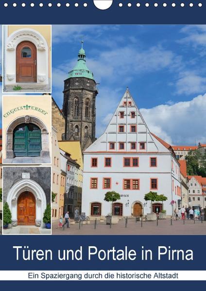 Türen und Portale in Pirna (Wandkalender 2017 DIN A4 hoch) - Coverbild