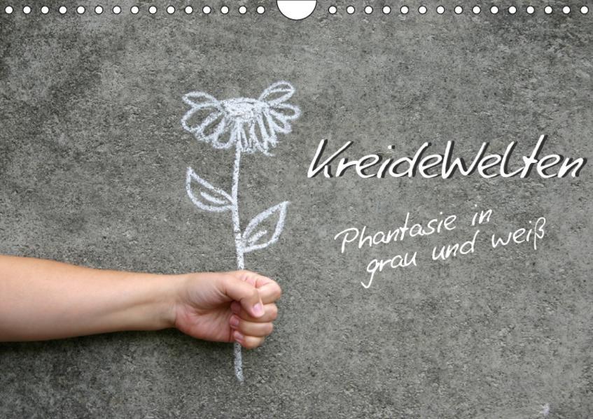 KreideWelten (Wandkalender 2017 DIN A4 quer) - Coverbild
