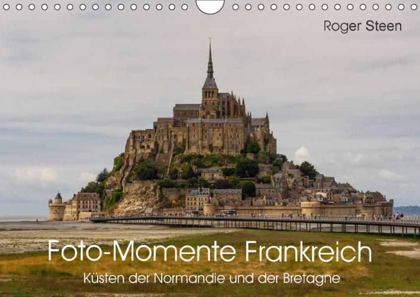Küsten der Normandie und der Bretagne (Wandkalender 2017 DIN A4 quer) - Coverbild