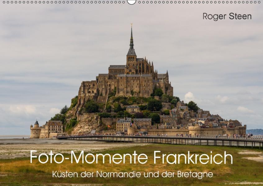 Küsten der Normandie und der Bretagne (Wandkalender 2017 DIN A2 quer) - Coverbild