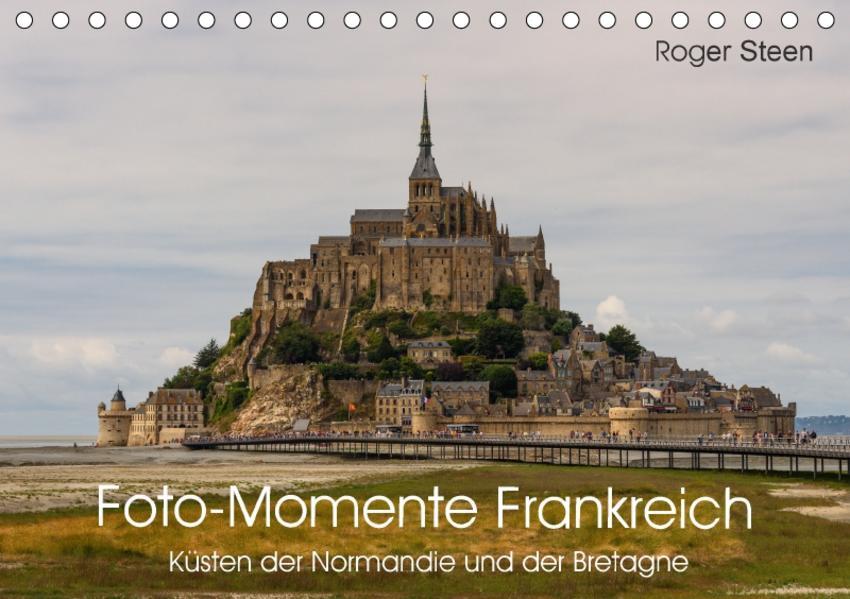 Küsten der Normandie und der Bretagne (Tischkalender 2017 DIN A5 quer) - Coverbild