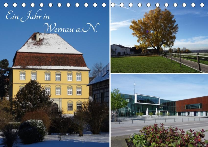 Ein Jahr in Wernau a.N. (Tischkalender 2017 DIN A5 quer) - Coverbild