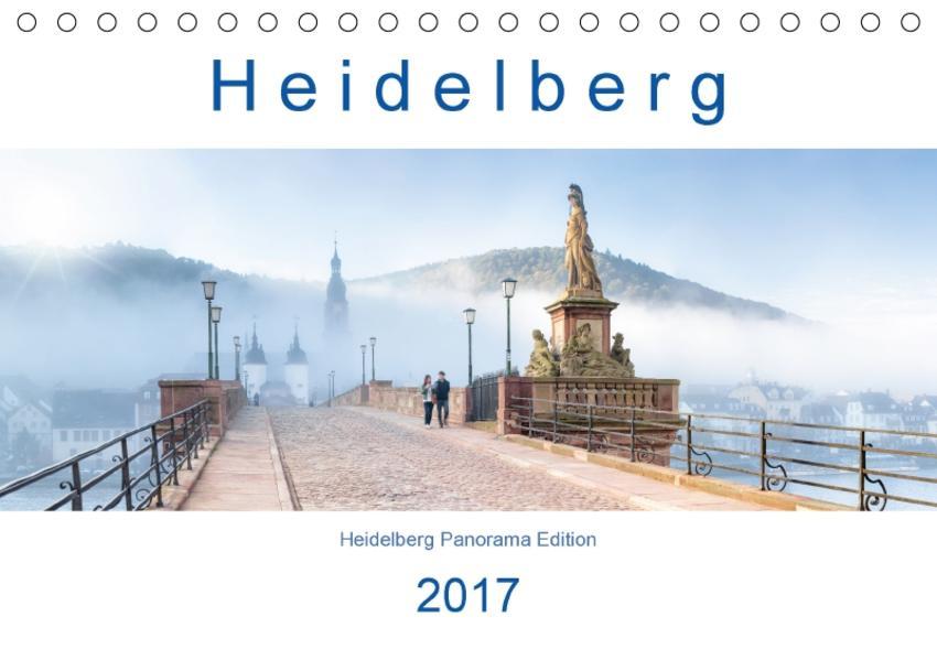Heidelberg 2017 (Tischkalender immerwährend DIN A5 quer) - Coverbild