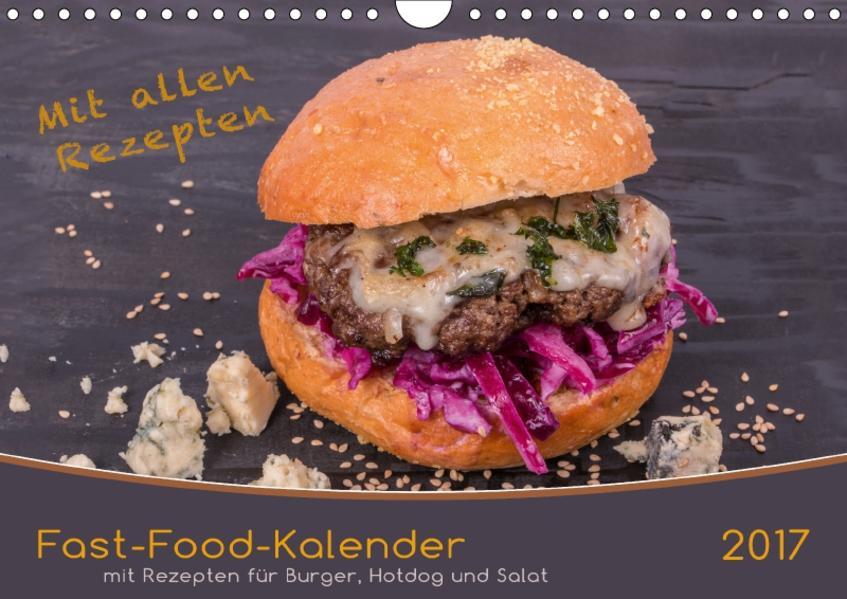 Fast-Food-Kalender (Wandkalender 2017 DIN A4 quer) - Coverbild