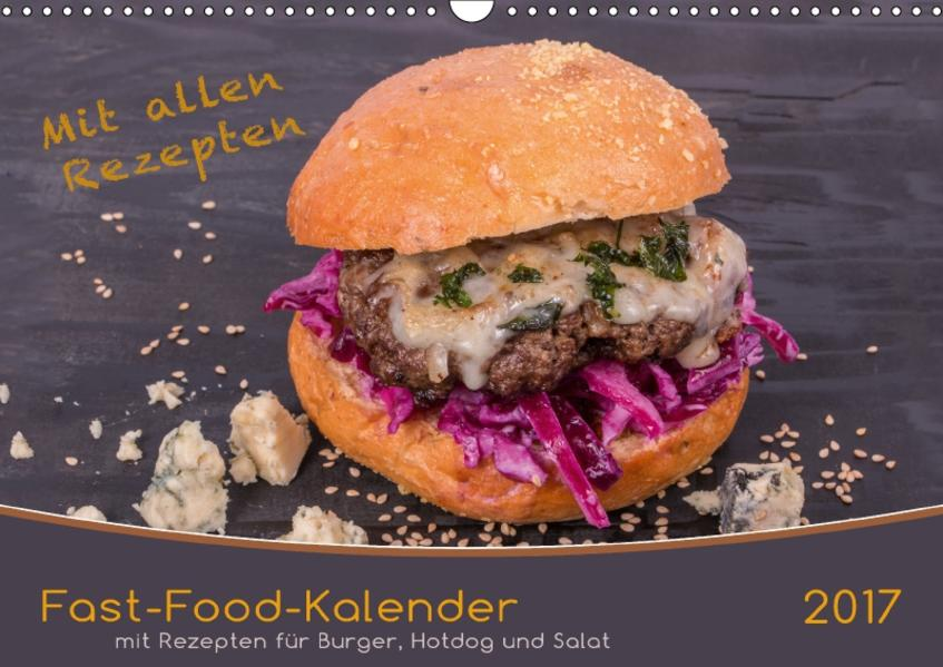 Fast-Food-Kalender (Wandkalender 2017 DIN A3 quer) - Coverbild