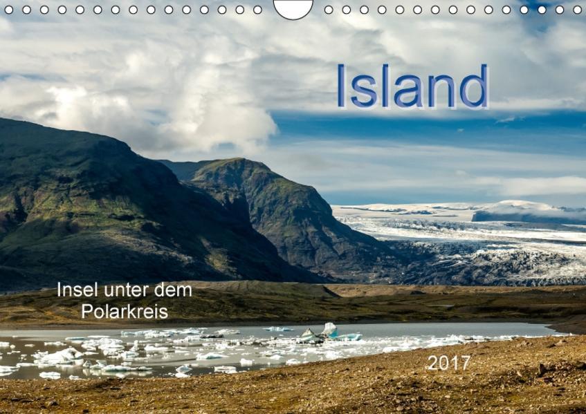 Island - Insel unter dem Polarkreis (Wandkalender 2017 DIN A4 quer) - Coverbild