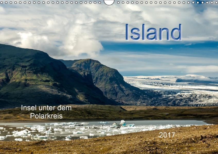Island - Insel unter dem Polarkreis (Wandkalender 2017 DIN A3 quer) - Coverbild