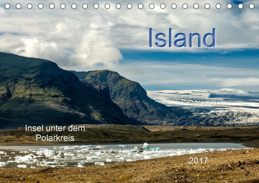 Island - Insel unter dem Polarkreis (Tischkalender 2017 DIN A5 quer) - Coverbild