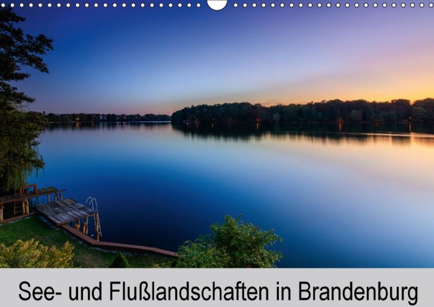 See- und Flußlandschaften in Brandenburg (Wandkalender 2017 DIN A3 quer) - Coverbild