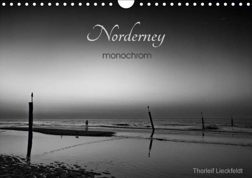 Norderney monochrom (Wandkalender 2017 DIN A4 quer) - Coverbild
