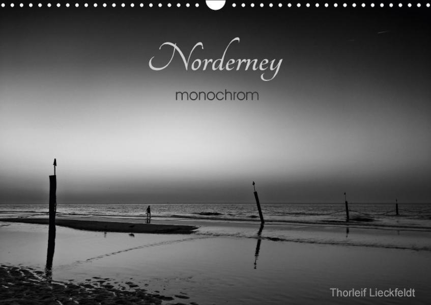 Norderney monochrom (Wandkalender 2017 DIN A3 quer) - Coverbild