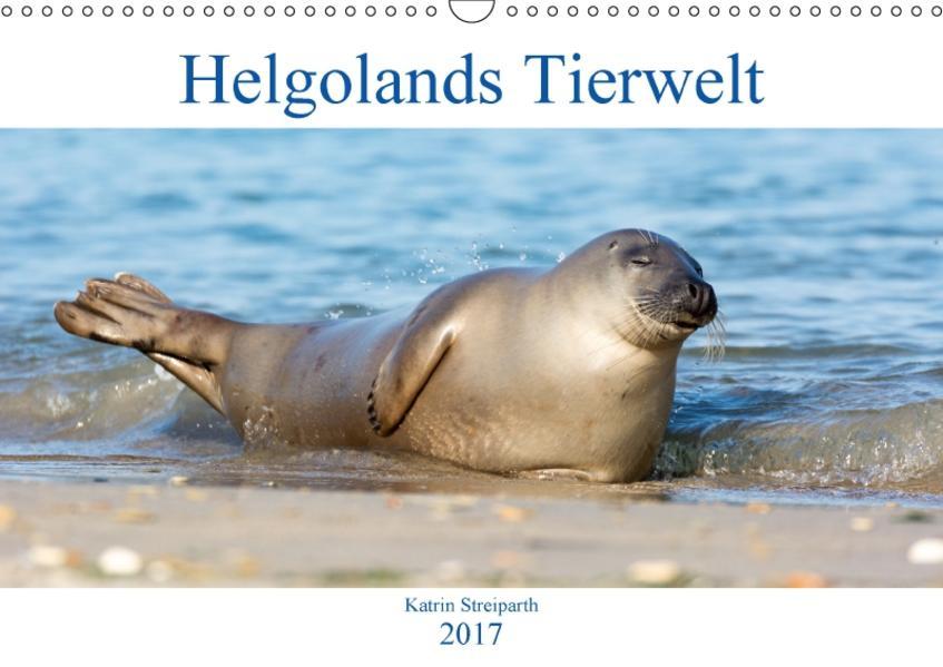 Helgolands Tierwelt (Wandkalender 2017 DIN A3 quer) - Coverbild