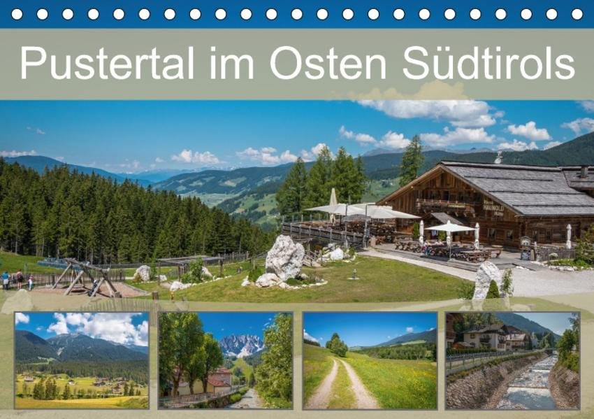 Pustertal im Osten Südtirols (Tischkalender 2017 DIN A5 quer) - Coverbild
