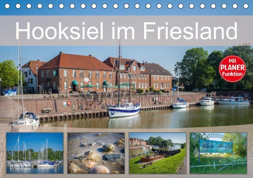 Hooksiel im Friesland (Tischkalender 2017 DIN A5 quer) - Coverbild