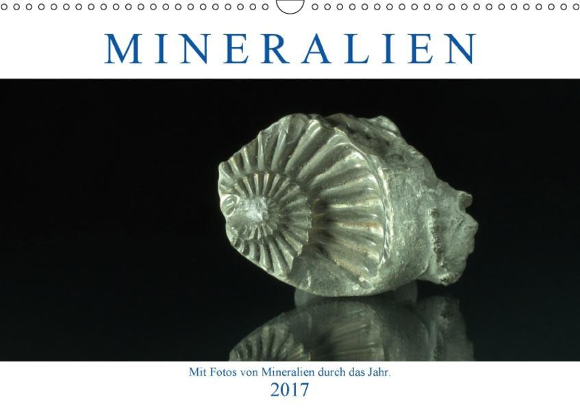 Mineralien (Wandkalender 2017 DIN A3 quer) - Coverbild