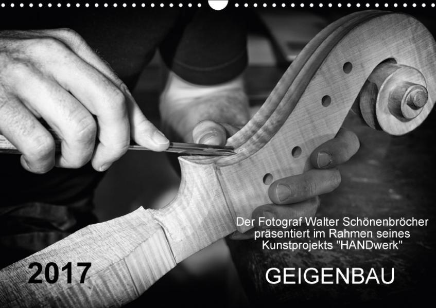 Geigenbau (Wandkalender 2017 DIN A3 quer) - Coverbild