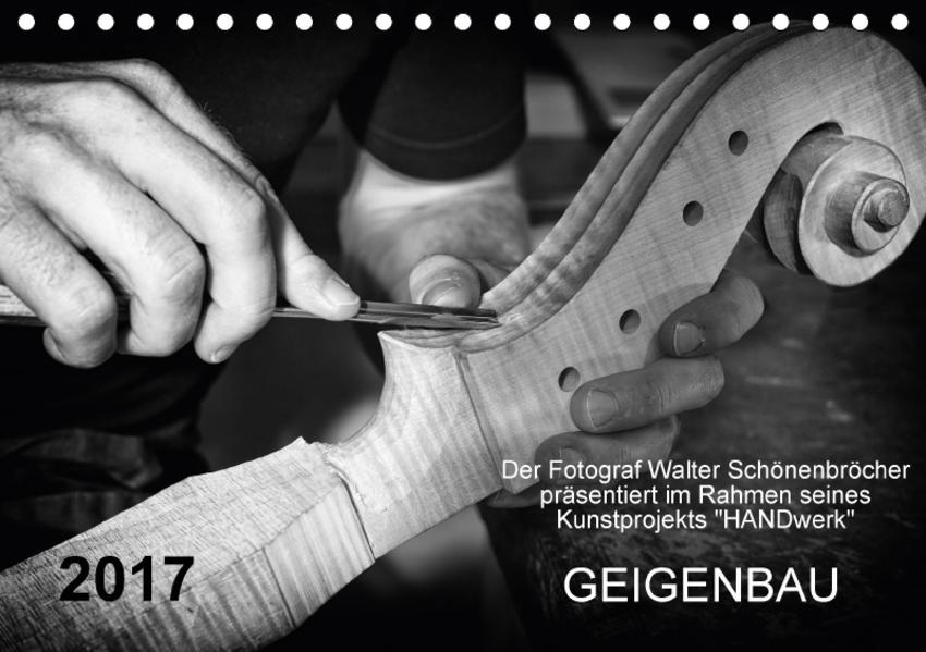 Geigenbau (Tischkalender 2017 DIN A5 quer) - Coverbild