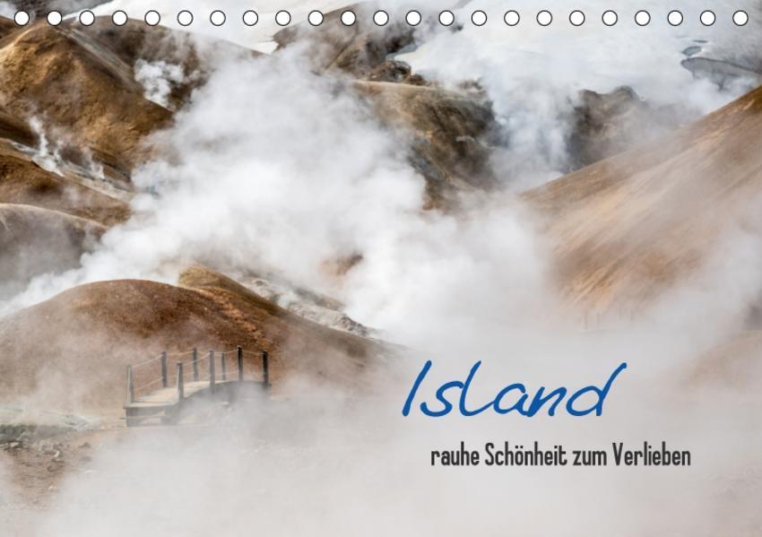 Island - rauhe Schönheit zum Verlieben (Tischkalender 2017 DIN A5 quer) - Coverbild