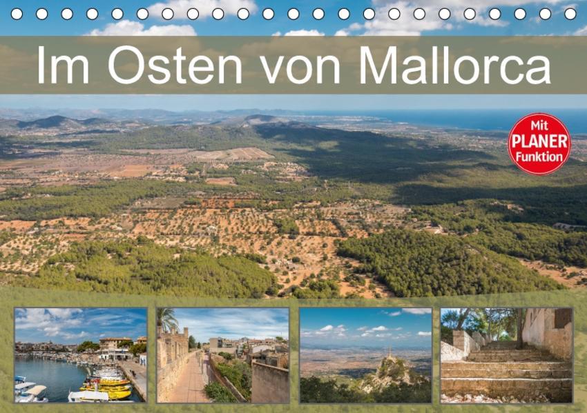 Im Osten von Mallorca (Tischkalender 2017 DIN A5 quer) - Coverbild