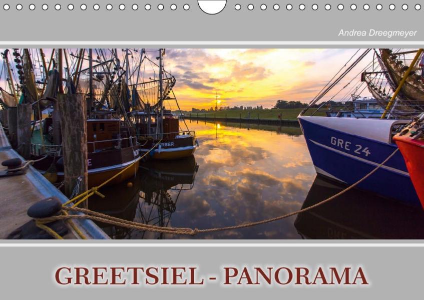 Greetsiel-Panorama (Wandkalender 2017 DIN A4 quer) - Coverbild