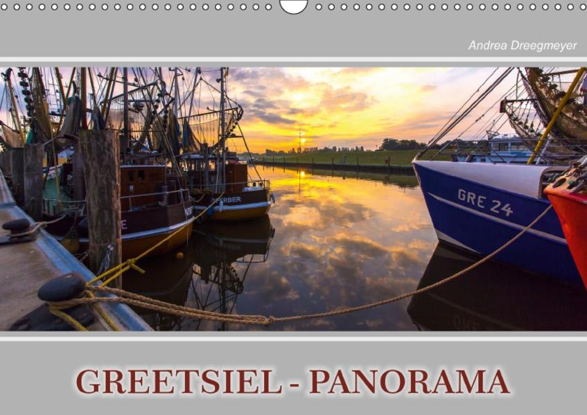 Greetsiel-Panorama (Wandkalender 2017 DIN A3 quer) - Coverbild