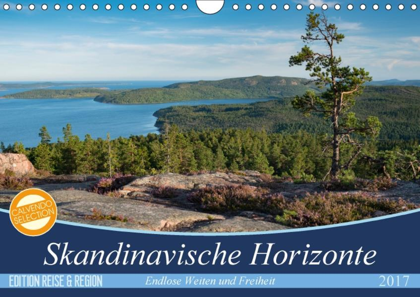 Skandinavische Horizonte (Wandkalender 2017 DIN A4 quer) - Coverbild