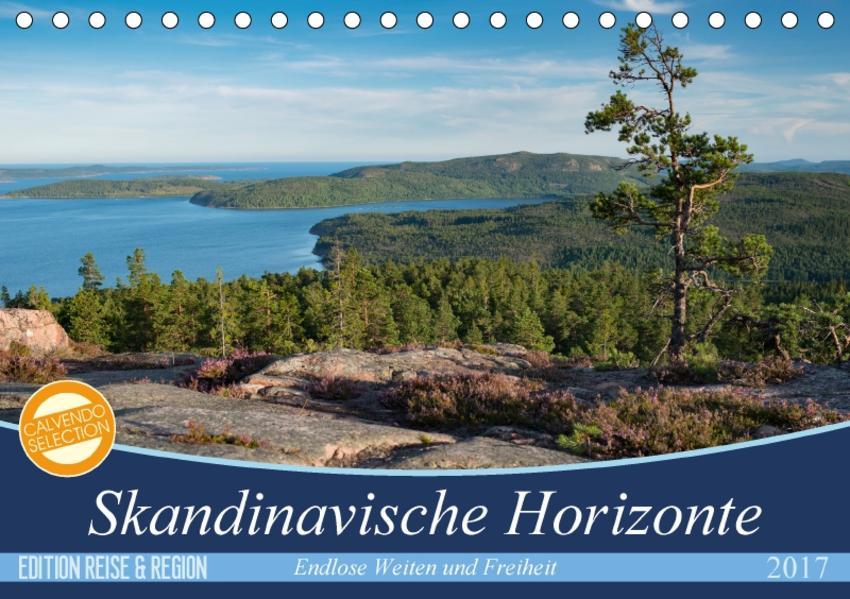 Skandinavische Horizonte (Tischkalender 2017 DIN A5 quer) - Coverbild