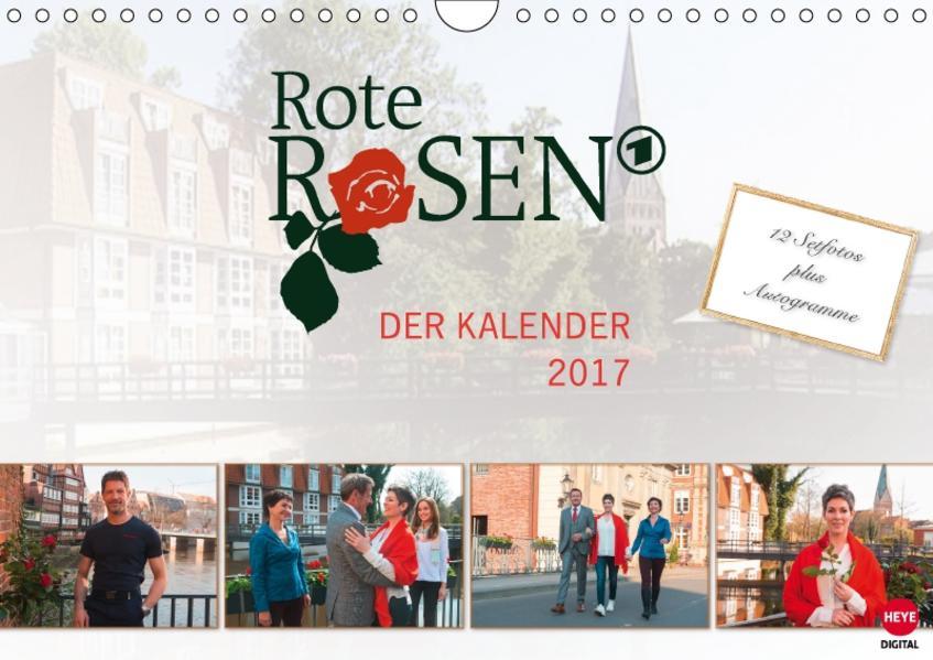 Rote Rosen (Wandkalender 2017 DIN A4 quer) - Coverbild