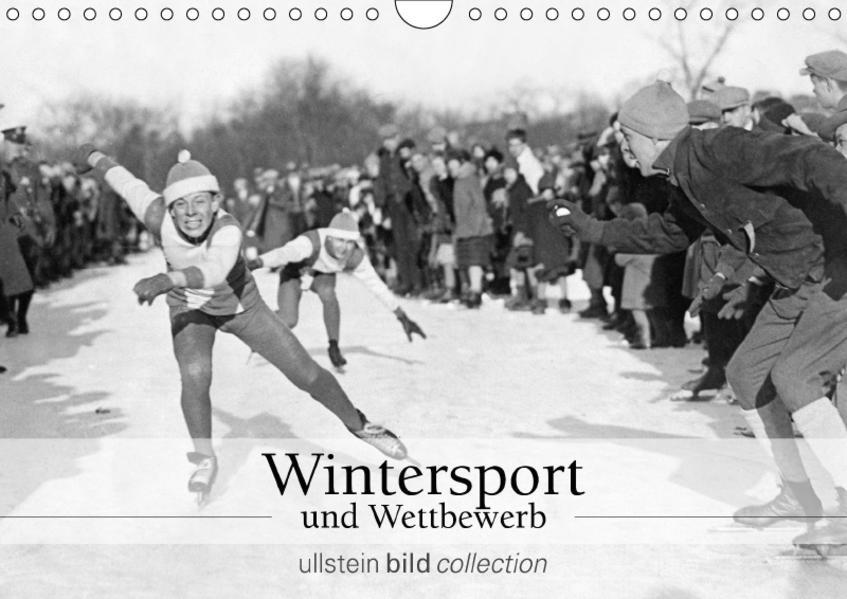 Wintersport und Wettbewerb (Wandkalender 2017 DIN A4 quer) - Coverbild