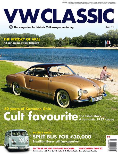 VW CLASSIC issue 11 (1/2016) - Coverbild