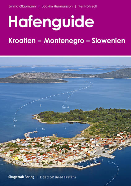 Hafenguide Kroatien - Montenegro - Slowenien - Coverbild
