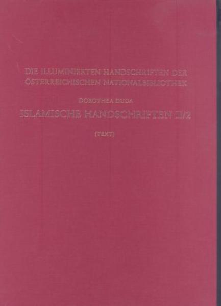 Islamische Handschriften II - Coverbild
