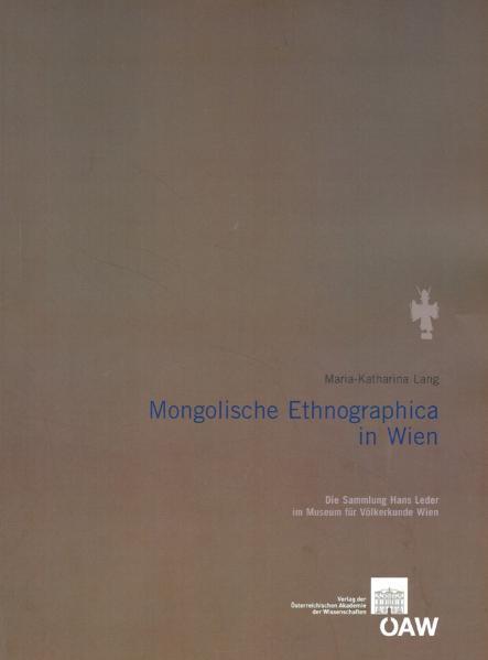 Mongolische Ethnographica in Wien - Coverbild