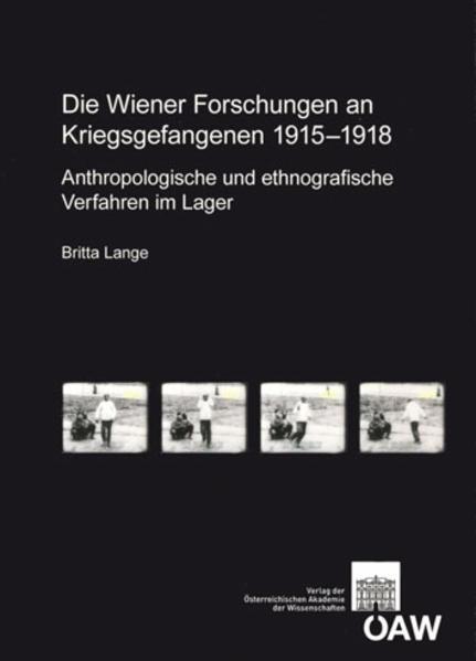 Die Wiener Forschungen an Kriegsgefangenen 1915-1918 - Coverbild