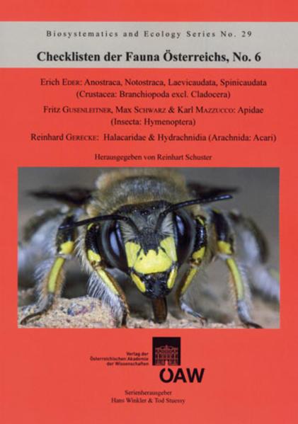 Checklisten der Fauna Österreichs No. 6 - Coverbild