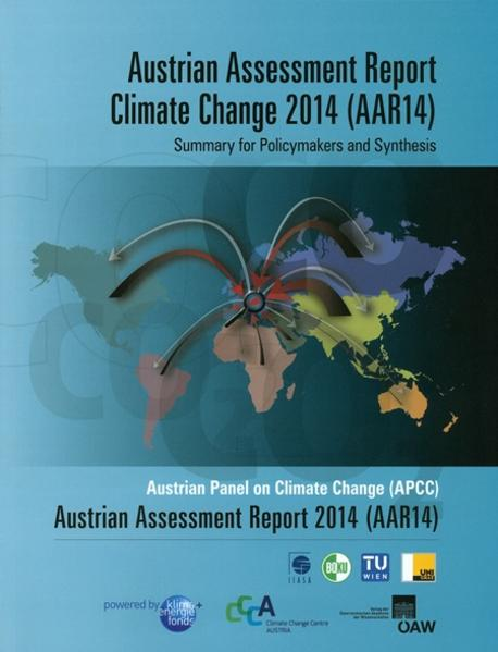 Austrian Assessment Report Climate Change 2014 (AAR14) Summary for Policymakers and Synthesis - Coverbild