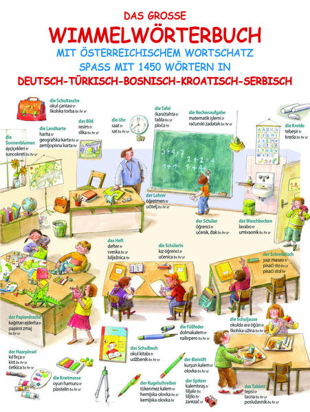 Das große Wimmelwörterbuch - Coverbild