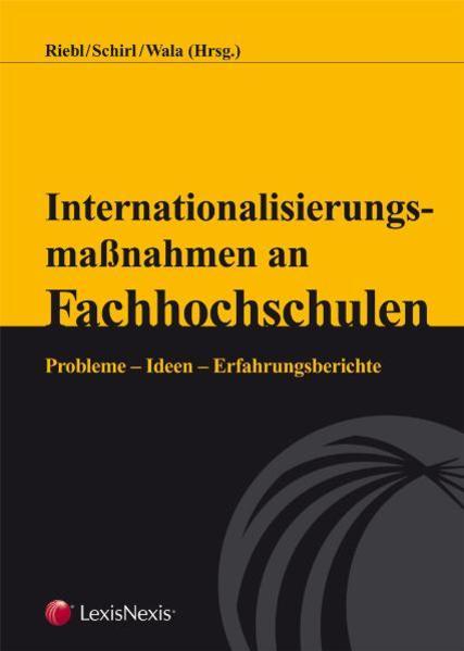 Internationalisierungsmaßnahmen an Fachhochschulen - Coverbild