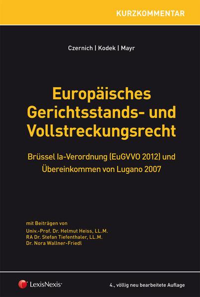 Europäisches Gerichtsstands- und Vollstreckungsrecht - Coverbild