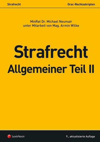Strafrecht - Allgemeiner Teil II - Coverbild