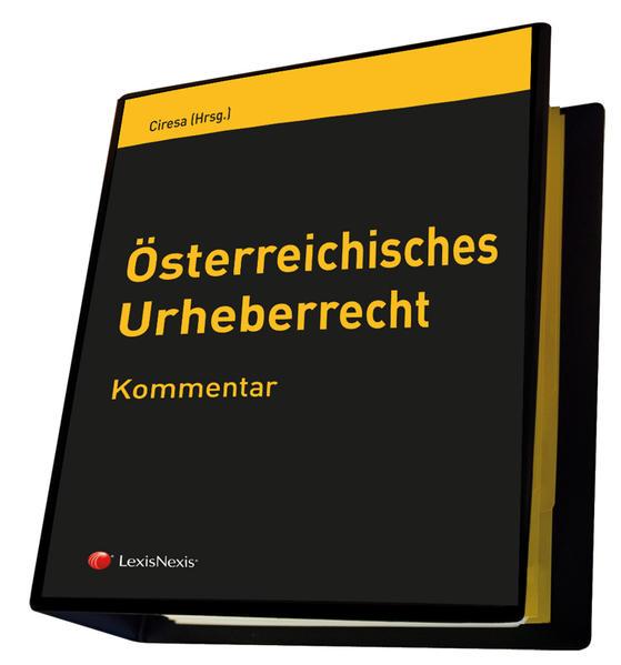 Österreichisches Urheberrecht - Coverbild