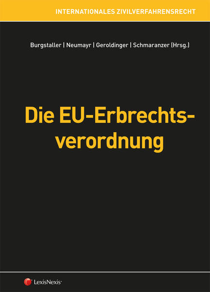 Die EU-Erbrechtsverordnung - Coverbild