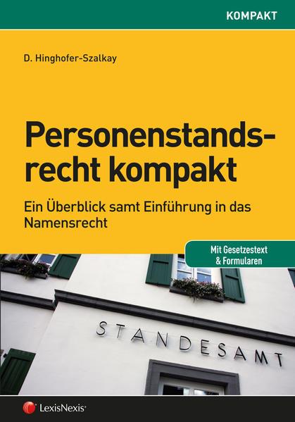 Personenstandsrecht kompakt - Coverbild