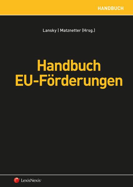 Handbuch EU-Förderungen - Coverbild