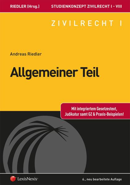 Studienkonzept Zivilrecht / Studienkonzept Zivilrecht I - Allgemeiner Teil - Coverbild