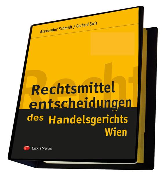 Rechtsmittelentscheidungen des Handelsgerichts Wien - Coverbild