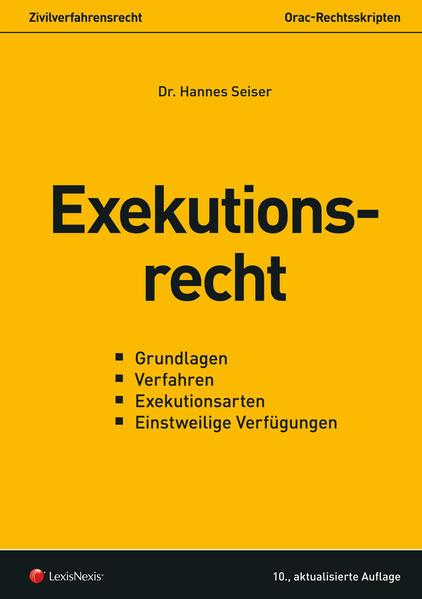 Exekutionsrecht - Coverbild