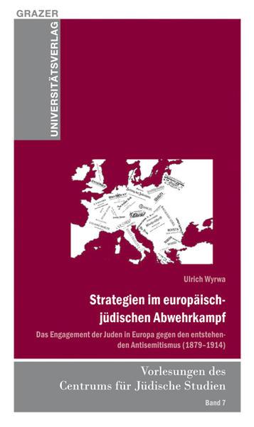 Strategien im europäische-jüdischen Abwehrkampf - Coverbild
