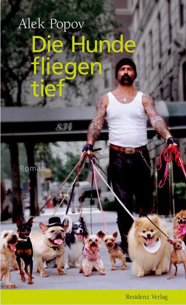Die Hunde fliegen tief - Coverbild