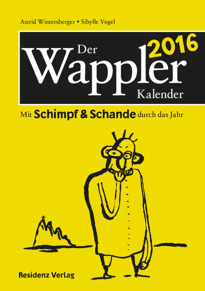 Der Wappler-Kalender 2016 - Coverbild